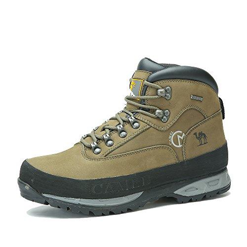 Camel 骆驼 户外男款登山鞋 2014秋冬新款高帮登山鞋A432185035