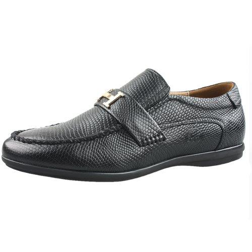 CAM.GNPAI 骆驼队长 商务 正装 休闲 男鞋 128126036 黑色