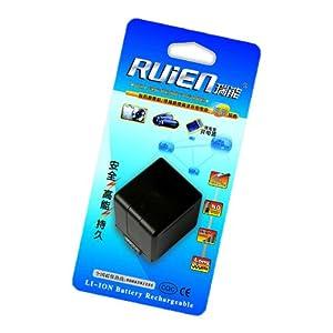 瑞能(RUIEN)松下R-VBG260+數碼攝像機/相機充電電池(使用于PANASONIC/NV-GS400K/100K/70K…VDR-M95/70K/30K…)