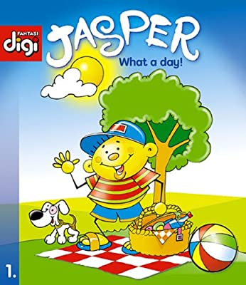 BookDNA漫画绘本书系—— 贾斯珀系列1 - 这一天!Jasper series 1 - What a day!.pdf