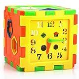 HABIBI 可爱10形状 智力箱 智力方块 智力星 小手小脑一起动 认知方块积木热销玩具-图片