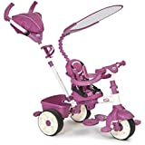 Little Tikes 小泰克 4合1运动型推骑三轮车 粉白