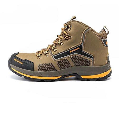 木林森 户外登山鞋男士潮流高帮防滑系带鞋户外鞋徒步鞋