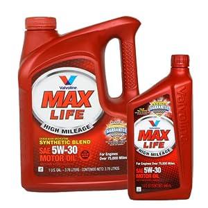 Valvoline MAX LIFE 胜牌 星冠 半合成机油 SN 5W-30 3.78L+946ml 199元包邮