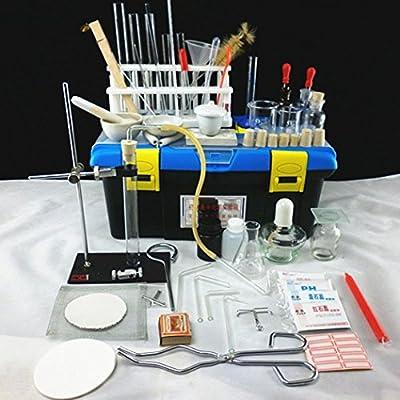 京潮港 初中化学实验器材箱,中考实验操作必备实验