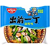 出前一丁高品质即食方便面海鲜味100g*6(香港进口)