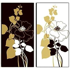 组合装饰画牡丹花