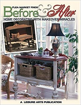 flea market finds before & after: home decorating