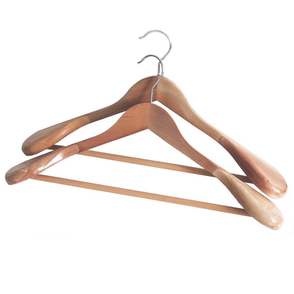 宽肩高档实木衣架