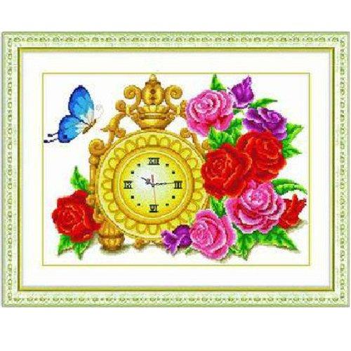 印象 精准印花十字绣 皇家玫瑰 MW013 尺寸58 45cm
