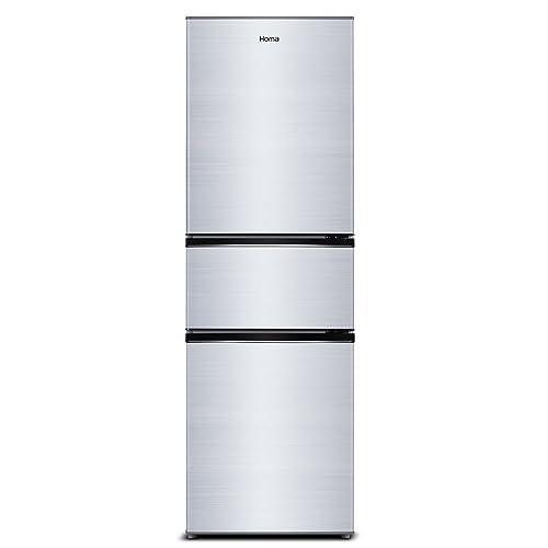 Homa 奥马 BCD-203DBK 203升 一级能效 软冷冻 三门冰箱
