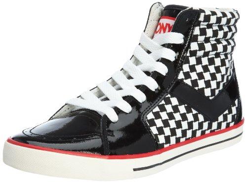 PONY 波尼 Sports Life时尚活力 男帆布鞋/硫化鞋 9103101421212BK