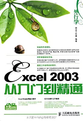 外行学Excel 2003从入门到精通.pdf
