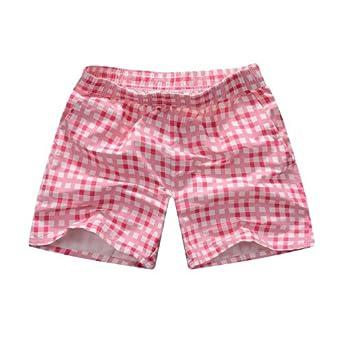 男士纯棉短裤家居女三分裤男式时尚休闲短裤速干薄潮