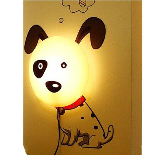 欣兰雅舍 创意装饰 3d墙贴 壁纸灯 插电宝宝小夜灯 卧室床头灯 墙壁