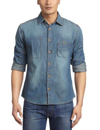 Esprit 埃斯普利特 男式 长袖休闲衬衫 PI9352