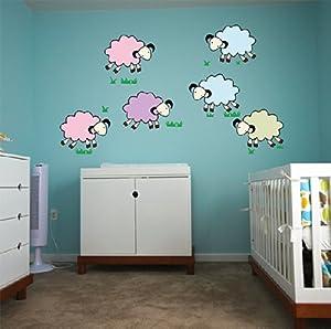 三代 爱心小树 幼儿园教室布置可移除透明磨砂墙贴纸儿童房背景墙家居