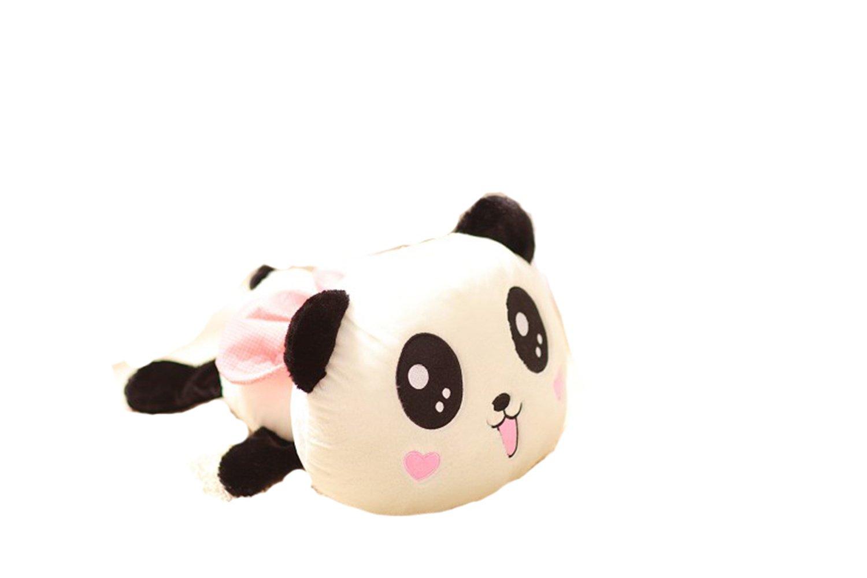 奥维斯趴趴熊猫公仔熊毛绒玩具桃心可爱款