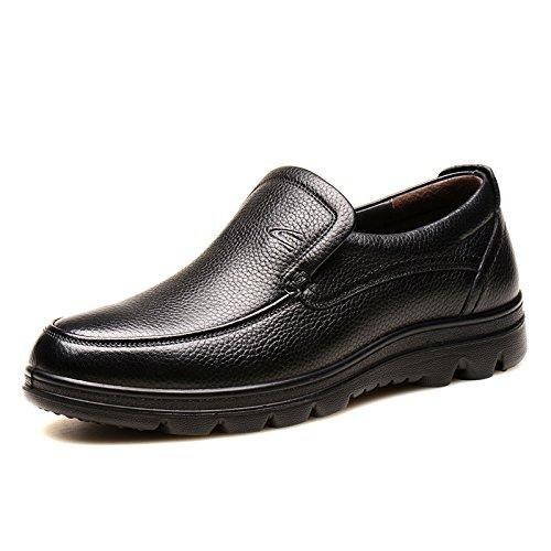 德国骆驼动感男鞋子秋季懒人鞋真皮爸爸鞋日常休闲皮鞋男士休闲鞋2324