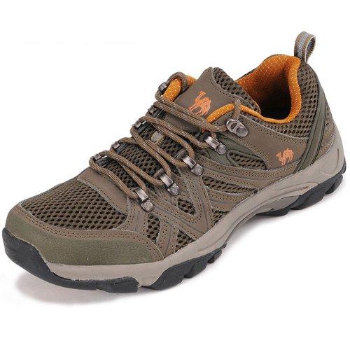 CAN.TORP 骆驼 情侣款 户外登山鞋 透气徒步鞋 防滑D11650
