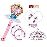 marjst 明顺佳 巴拉拉小魔仙 魔法棒 女孩 梦幻公主巴啦啦 魔法少女公主套装 儿童玩具-图片