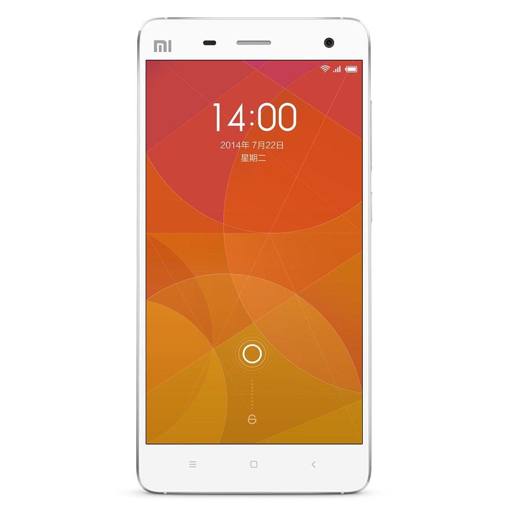 小米手机4 4g手机(白色)不锈钢边框,骁龙801四核2.