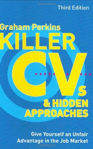 Killer Cvs Hidden Approaches Give Yourself an Unfair ...