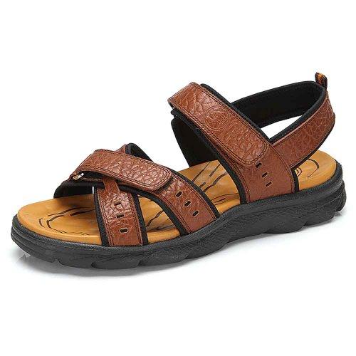 骆驼牌  2014夏季新款凉鞋 透气休闲男凉鞋沙滩鞋男潮鞋 W422001001