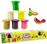 HABIBI 彩泥配件 DIY 6色混装 无毒 创意橡皮泥 儿童益智玩具-图片