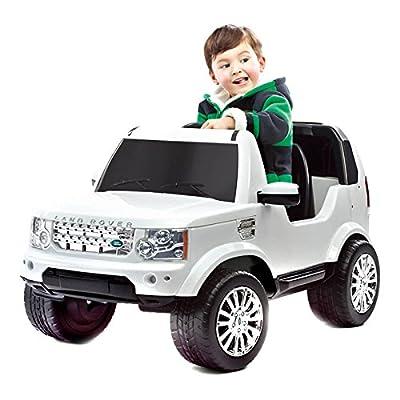 路虎儿童电动车宝宝可坐可遥控汽车