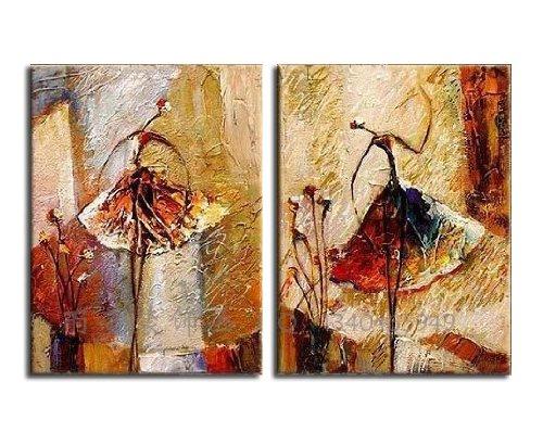 古代舞者彩铅手绘