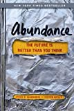 Book Cover for Abundance: The Future Is Better Than You Think