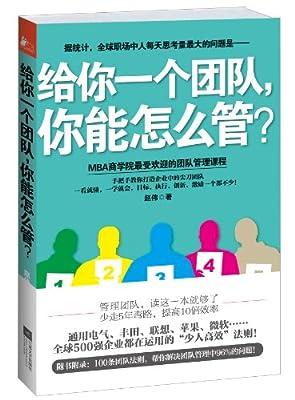 给你一个团队,你能怎么管?.pdf