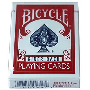 美国单车bicycle扑克牌 红色