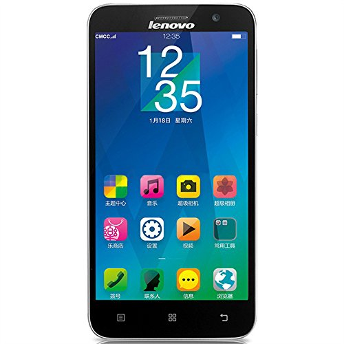 Lenovo 联想 黄金斗士A8(A808T)4G手机(深邃黑)-图片