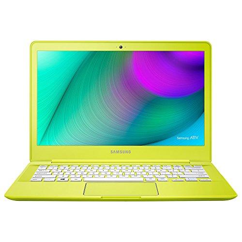 Samsung 三星 ATIV Book9 905S3K-K04CN 清雅黄 13.3英寸笔记本电脑(AMD 四核处理器 4G 128G固态硬盘 AMD Radeon R3 LED背光全高清防眩光液晶显示宽屏 虚拟杜比7.1音效 HD摄像头 Windows8.1 皮革质感 massive bass低音增强 17.95毫米极薄 )