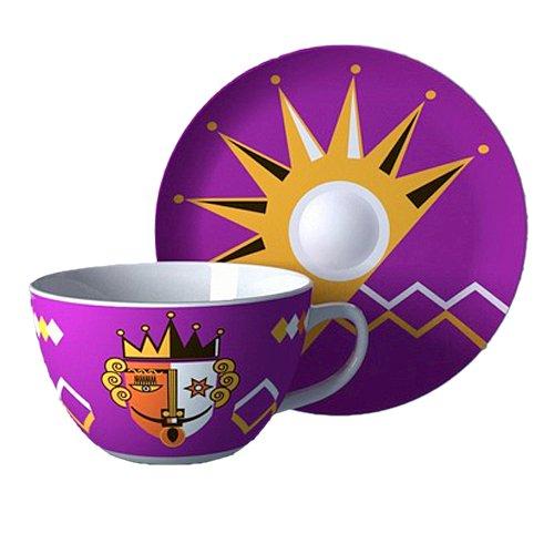 使这十款咖啡杯呈现出趣味横生的立体画面.