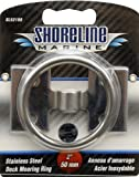 Shoreline Marine Stainless Steel Mooring Ring, 2 X 1/4-Inch