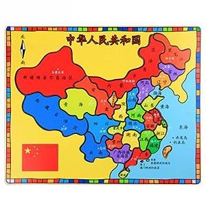 中国地图拼图拼板