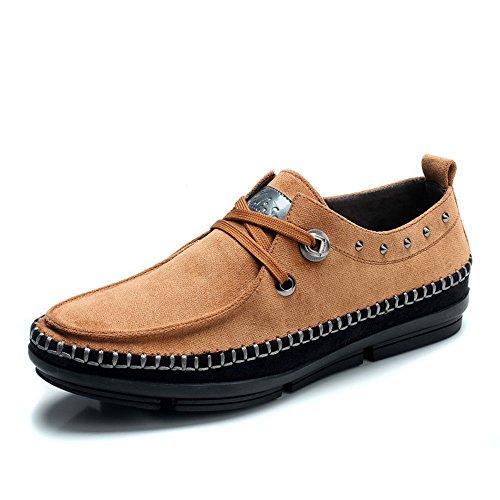 木林森 男鞋休闲鞋 2014夏季男鞋男士帆布鞋 时尚户外英伦休闲鞋板鞋68140002