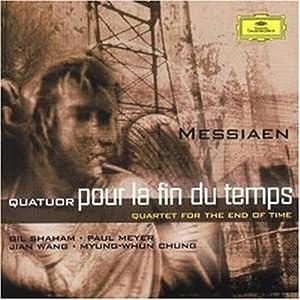 进口CD 梅西安 时间终结四重奏 沙汉姆 CD 4690522