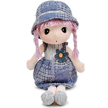 瑞奇比蒂 hwd菲儿系列 大眼睛田园女孩 长发娃娃玩偶