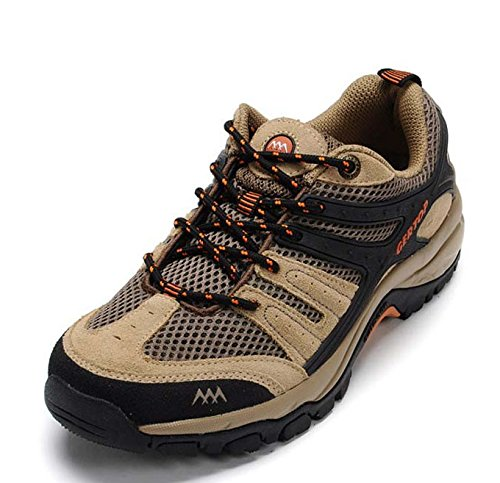 GERTOP 德意志山峰 夏季透气排汗网面徒步鞋 防滑耐磨减震登山鞋男