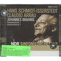 进口CD:勃拉姆斯:第1-2钢琴协奏曲