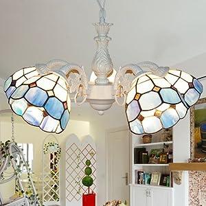 波西米亚灯饰地中海欧式田园客厅吊灯餐厅简约卧室