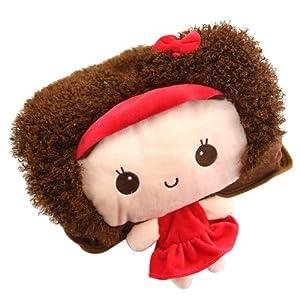 泉力 新款卡通毛绒双手插已注水电热水袋 立体娃娃 (摩丝娃娃)