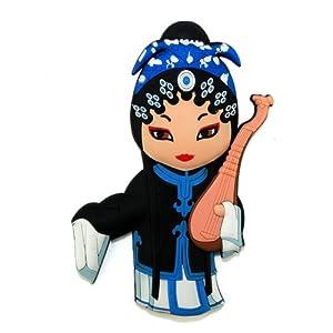 稻禾 稻禾创意卡通戏剧人物树脂磁性冰箱贴家居装饰贴