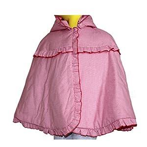 宝宝钩针斗篷外套