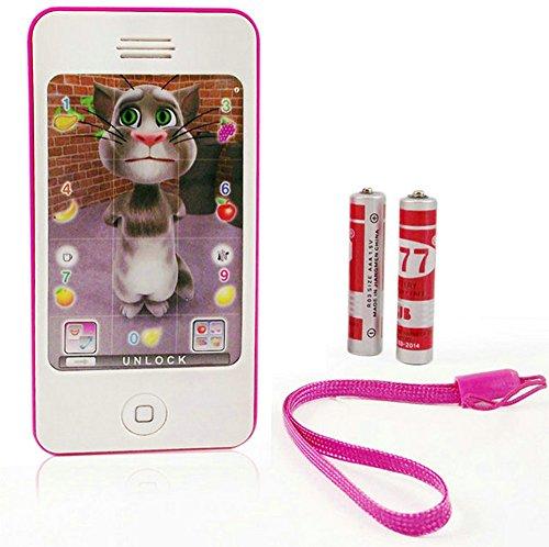 HABIBI 仿真苹果触屏音乐手机iphone  多功能早教玩具-图片
