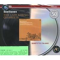 进口CD:贝多芬晚期弦乐四重奏